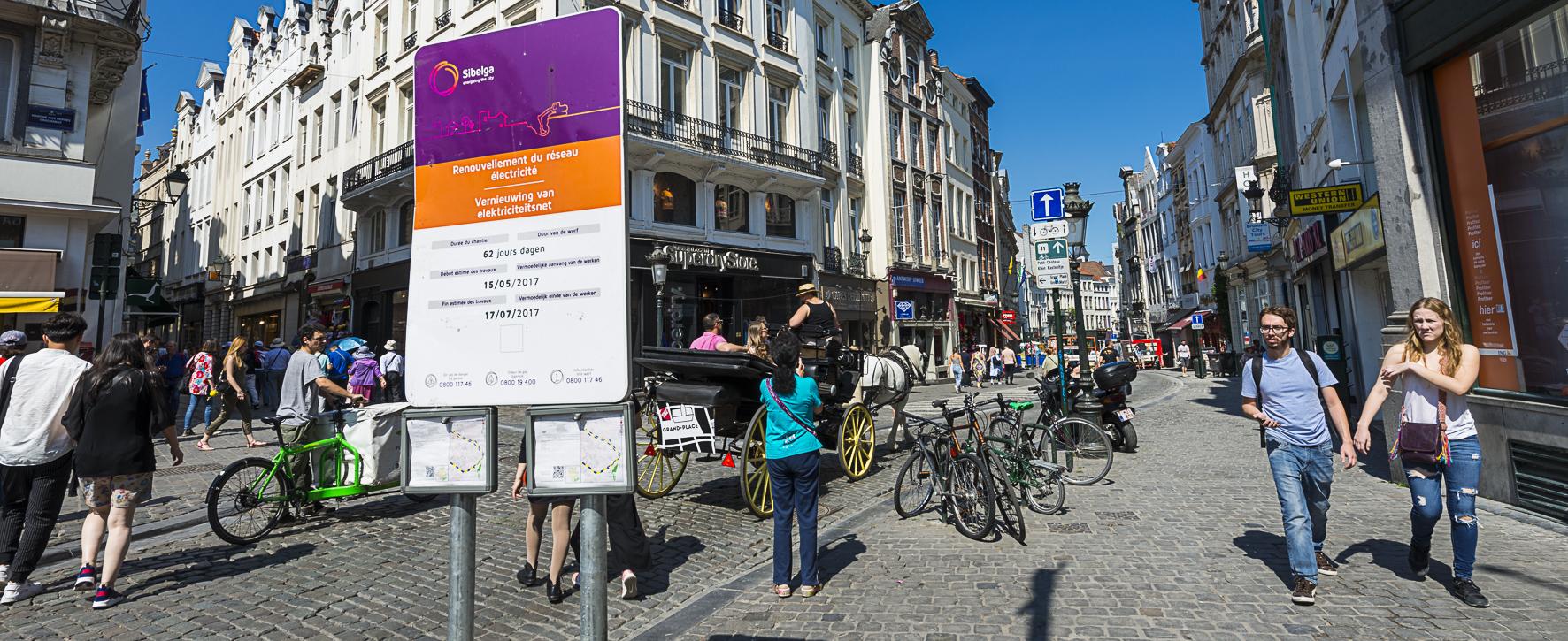 Sibelga Rapport Annuel 2019 Een betere coördinatie van de projecten
