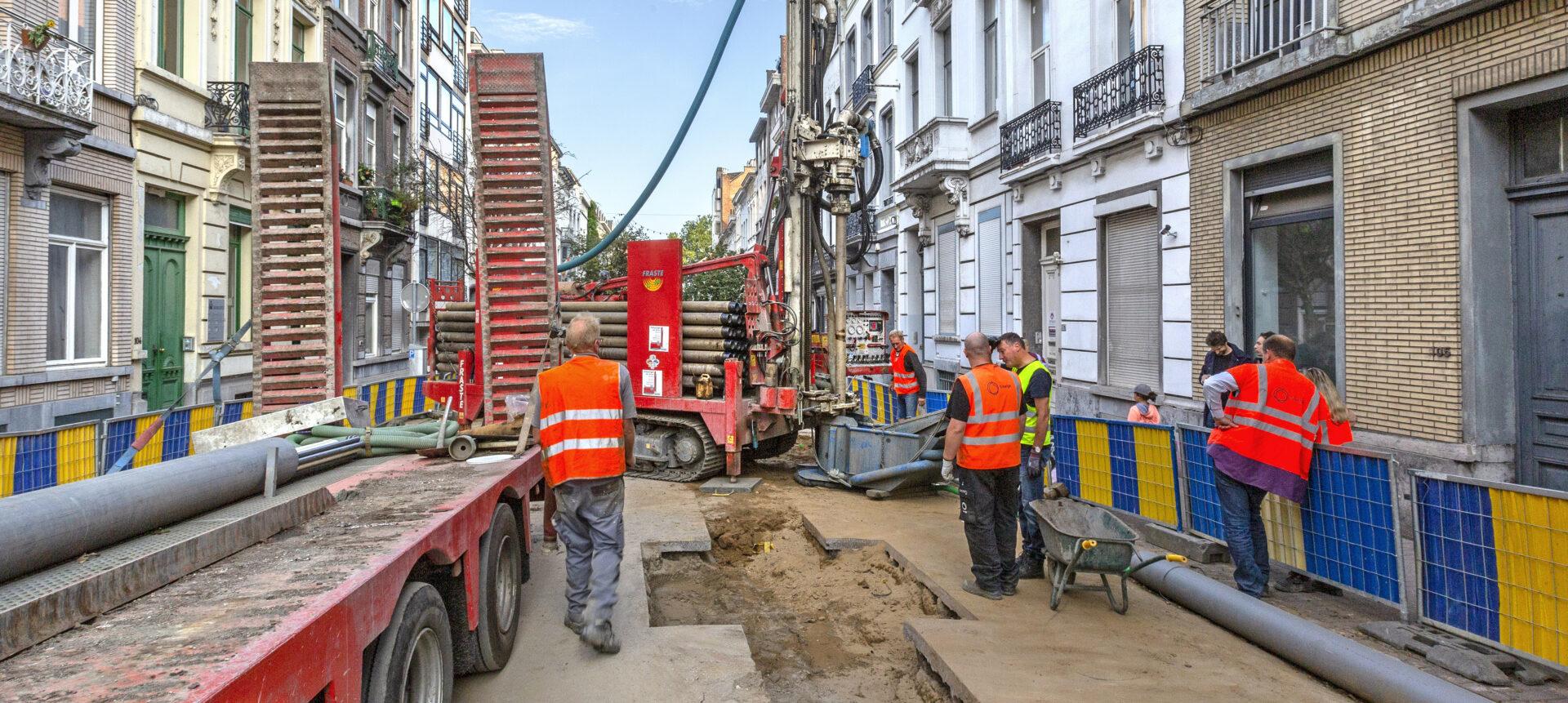 Sibelga Rapport Annuel 2019 Les chantiers